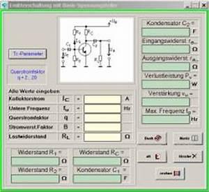 Emitterschaltung Berechnen : elo formel 6 schaltungsentw rfe und entwicklungen berechnen ~ Themetempest.com Abrechnung