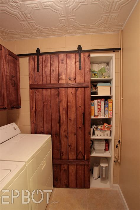 barn sliding door epbot make your own sliding barn door for cheap