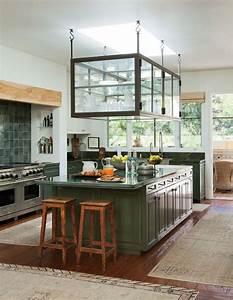 Plan De Travail Ilot : la cuisine avec ilot cuisine bien structur e et ~ Premium-room.com Idées de Décoration
