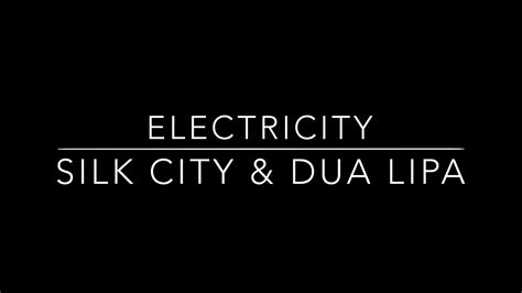 Electricity [mp3 Download]