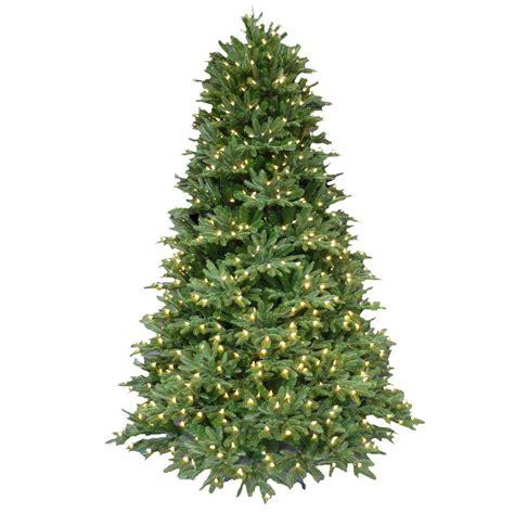 7 5 pre lit christmas tree 7 5 ft pre lit led balsam fir artificial christmas tree 5899