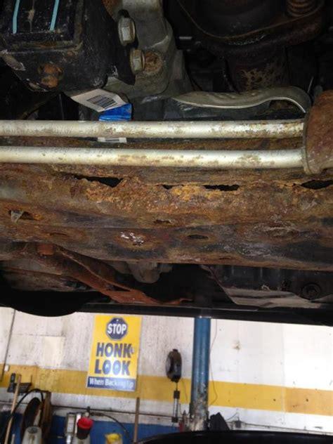 dodge caliber engine cradle rotted  complaints