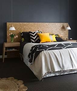 Coussin Gris Et Jaune : chambre jaune et gris id es et inspiration d co clem ~ Dailycaller-alerts.com Idées de Décoration