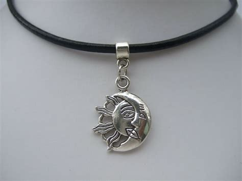 Sun And Moon Choker , Moon Sun Charm On Black Leather. Bee Necklace. Viking Rune Wedding Rings. Beaded Bracelet. Kate Spade Watches. Ankle Bracelets Stores. Silver Plate Bracelet. Wooden Rings. Real Pearl Earrings