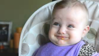 baby making funny faces  stock footage video