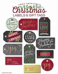 christmas label templates worldlabel blog With christmas name tag stickers