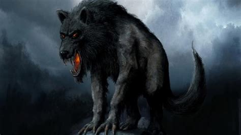 Beast Scary Wolf Wallpaper by Creature Wolf Hd Wallpaper