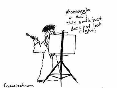 Freshspectrum Vinci Leonardo Much Cartoon Anthropology Illustrated