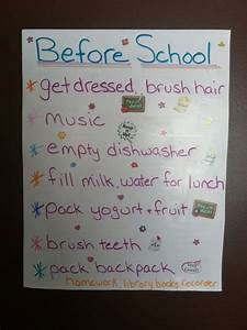 Healthy Routines For Back To School