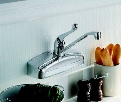 Where to buy a wall mount kitchen faucet: The Delta 200