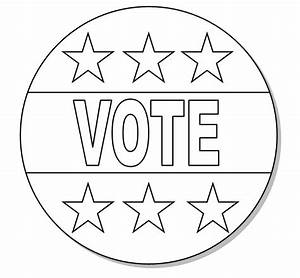 Election Day Black And White Clipart - Clipart Suggest