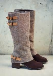 Vintage Tweed Women's Fall Boot