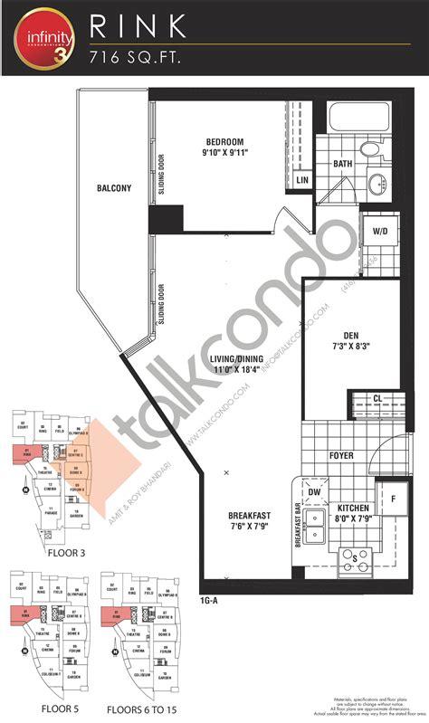 infinity 3 condos coliseum 970 sq ft 2 bedrooms