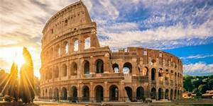 The Colosseum Ud83cudfdfufe0f In Rome Ud83cuddeeud83cuddf9 History Architecture Opening