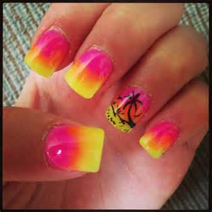 Best ideas about palm tree nails on