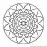 Coloring Pages Mandala Circle Mandalas Printable Print Adult Sheets Designs Colouring Designing Books Shapes Adults Patterns Seniors These Therapy Wheel sketch template