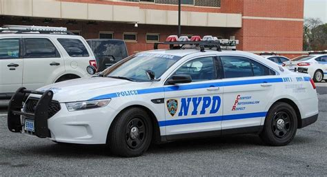 nypd ford interceptor police cars ford police