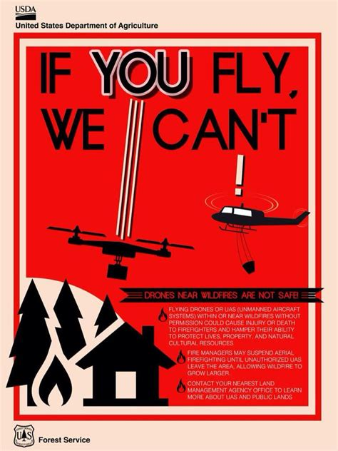 drone flying  forest fire diverts planes costs  forest service  ars technica