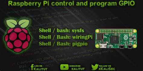Raspberry Control Program Gpio Kalitut
