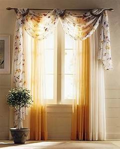 Drapery curtain curtain ideas for living room design for Window curtains ideas for living room