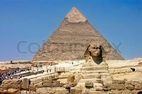 King Hotel Cairo Giza Africa khafra s pyramid and sphinx of giza cairo stock