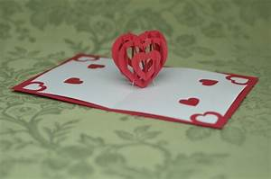 free spiral valentine pop up card templates search With twisting hearts pop up card template
