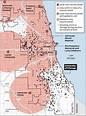 Map: Trauma centers and shootings in the Chicago area ...