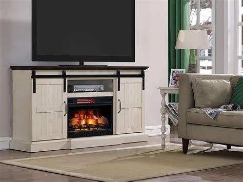 majik barn door media mantle  fireplace rent