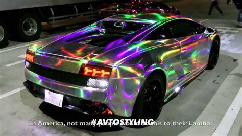 Lamborghini Galaxy Chrome New Youtube