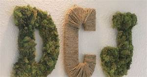 diy moss rope letters simply ciani With live moss letters