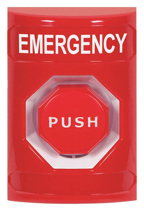 safety technology international emergency push button