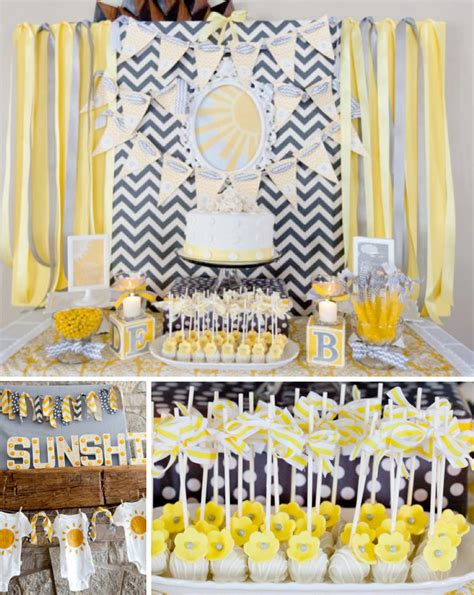 baby shower theme for the gender neutral baby shower of creative