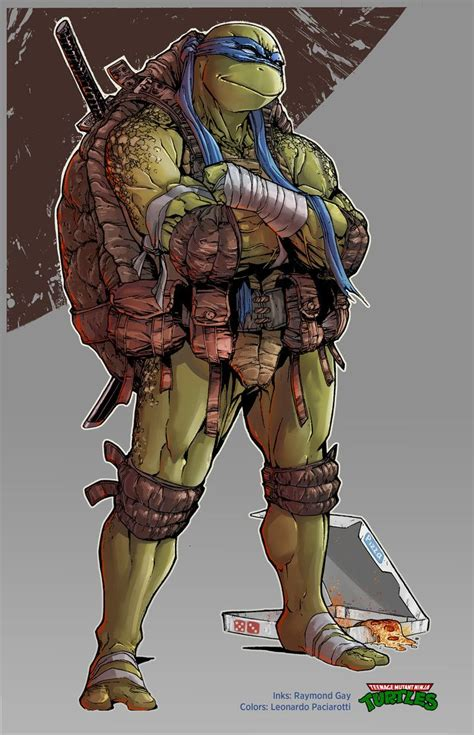 TMNT Leonardo by le0arts deviantart com on DeviantArt