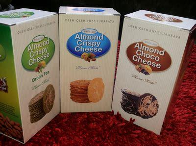 Almond Crispy Cheese Wisata Rasa almond crispy wisata rasa