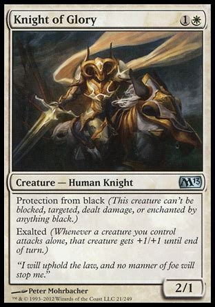 Mtg Budget Exalted Deck by Deck Casual Knights In Legacy Budget Legacy Legacy