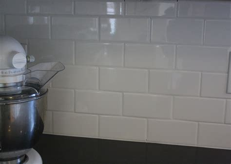Backsplash No Grout : How To Grout Subway Tile Backsplash
