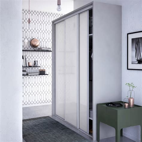 porte coulissante chambre porte de placard chambre portes en verre laqu et