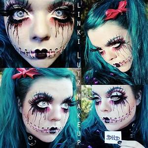Halloween Make Up Puppe : halloween make up look inspirations tommy beauty pro ~ Frokenaadalensverden.com Haus und Dekorationen