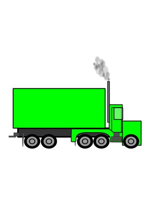 Semi Truck Clipart Clipart Semi Truck