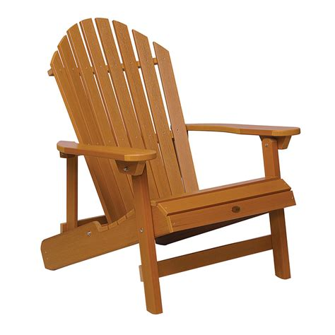 highwood usa weathered acorn adirondack chair shop highwood usa hamilton toffee plastic folding patio
