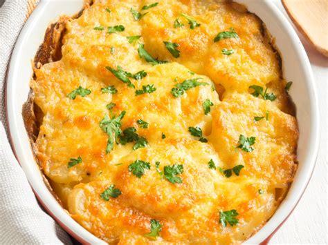 gratin de patates douces et pommes de terre recette de