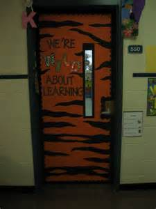 Wild About Learning Classroom Door
