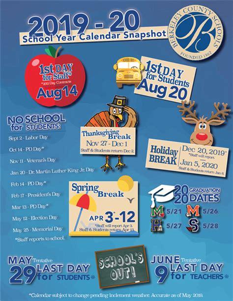school calendar snapshot