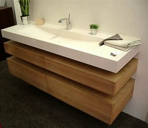 plan de vasque salle de bain maison design bahbecom With salle de bain design avec lavabo salle de bain suspendu