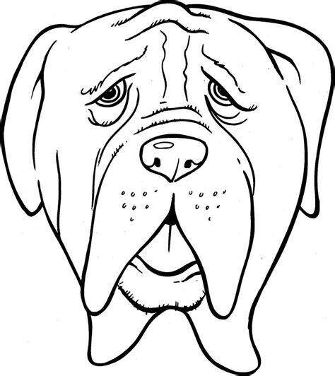 Kleurplaat Aarend Hoofd by Dieren Tekeningen Om Te Kleuren Uniek Hond Hoofd