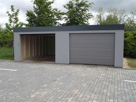 garage holzständerwerk selber bauen fertiggaragen typ multi doppelgarage