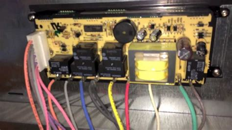 repairing electronic oven controller  kenmore elite oven