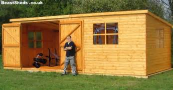build custom home sheds garden gyms with free uk delivery and fitting