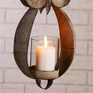 Windlicht Zum Aufhängen : antik design windlicht laterne eule eddy metall f r teelichter zum aufh ngen ebay ~ Buech-reservation.com Haus und Dekorationen