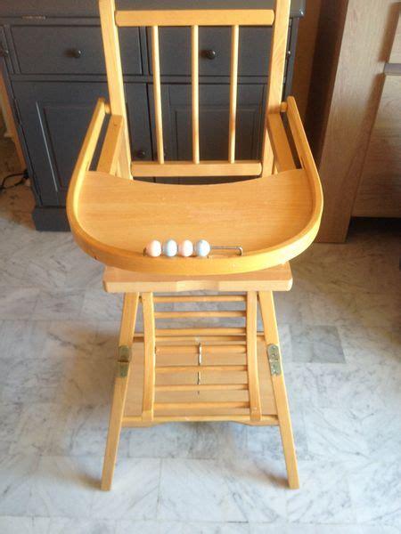 chaise haute en bois occasion meilleures ventes boutique